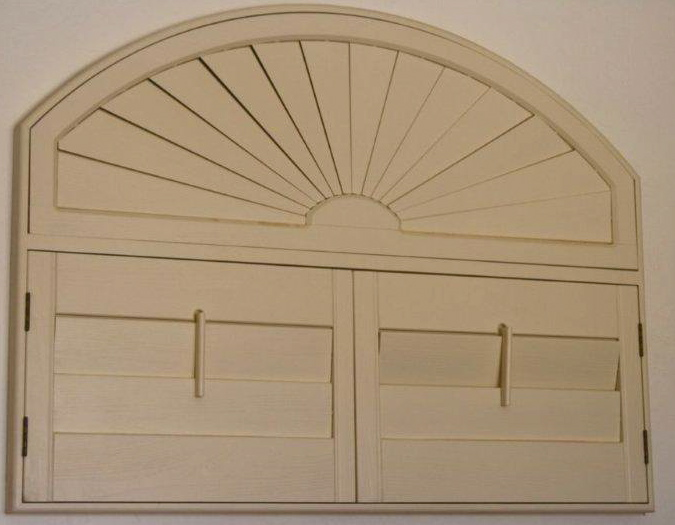 Teds Discount Blinds Arched Wood Shutters Peoria Phoenix