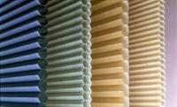 honeycomb shades multi color close up