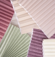 honeycomb shade fabrics close up