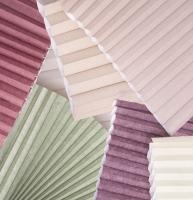 honeycomb shade fabrics close up