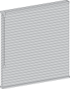honeycomb shades standard rail option