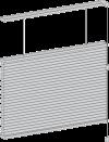 honeycomb shade twin fold cordless option
