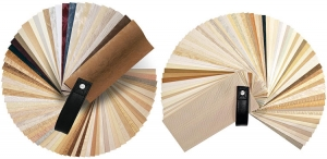 vertical blind sample fan