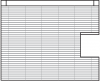 wood blinds side cutout option