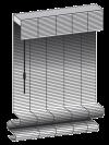 woven wood standard roman option