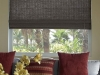 bamboo woven wood shade with liner
