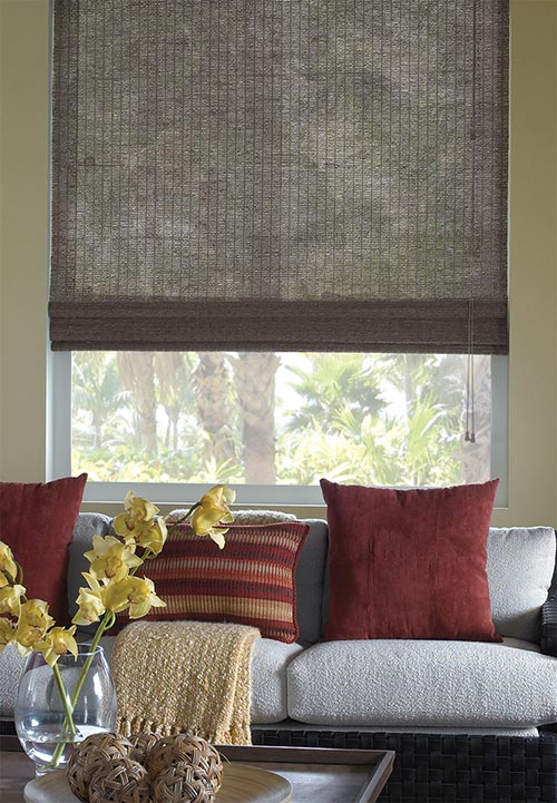 bamboo woven wood shade no liner